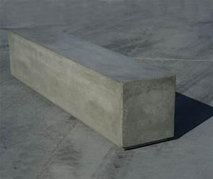 1 M3 De Béton : banc en b ton guyon fabricant fran ais de mobilier ~ Premium-room.com Idées de Décoration