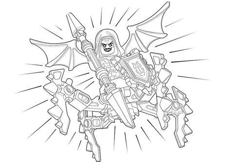nexo knights  ausmalbilder kostenlos