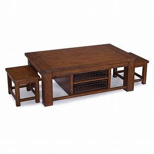 parker lane rectangular cocktail table with 2 stools With rectangular coffee table with stools