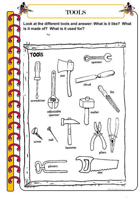tools worksheet free esl printable worksheets made by teachers