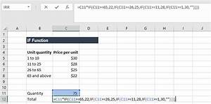 How To Make An Excel If Statement