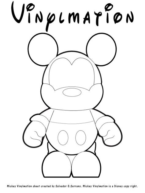 vinylmation coloring page great    white