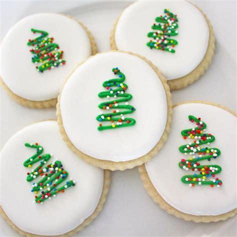 cute christmas cookies ideas  pinterest