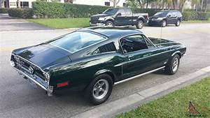 MUSTANG GT FASTBACK HIGHLAND GREEN 390/325 S CODE