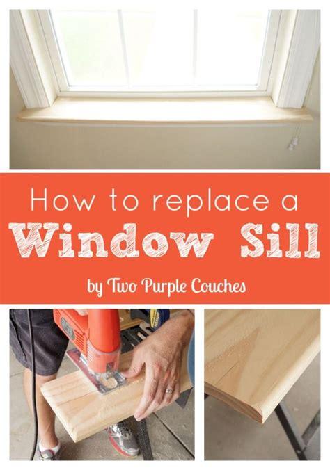 Windowsill Replacement - 25 best ideas about window sill on window