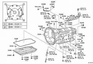 Lexus Ls 460 Ring  O  For Breather Plug   Transmission