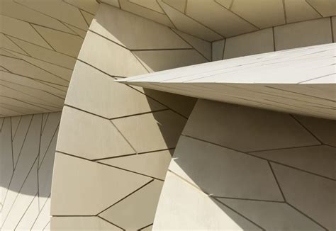 Nationalmuseum Katar In Doha by National Museum Of Qatar Werner Sobek