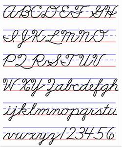 Examples of Handwriting Styles - Draw Your World - Draw ...