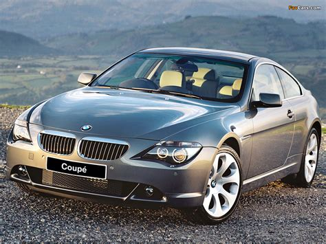 Pictures Of Bmw 630i Coupe Uk Spec E63 200507 1024x768