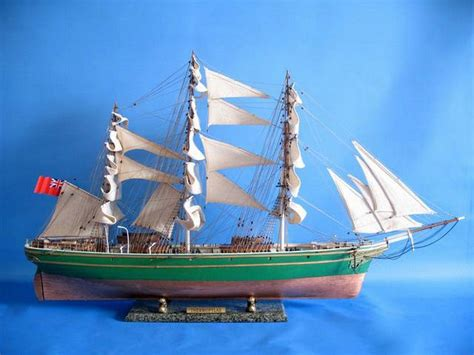 buy wooden thermopylae limited model tall ship  model ships