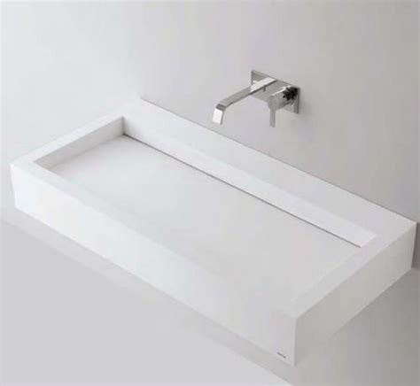 lavabi in corian slot lavabo in corian di antonio lupi arredo bagno