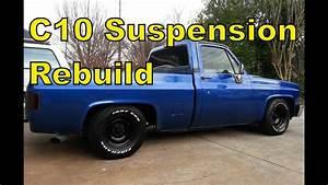 U0026 39 87 Chevy C10 Front Suspension  U0026quot How To U0026quot  Rebuild In 15 Mins