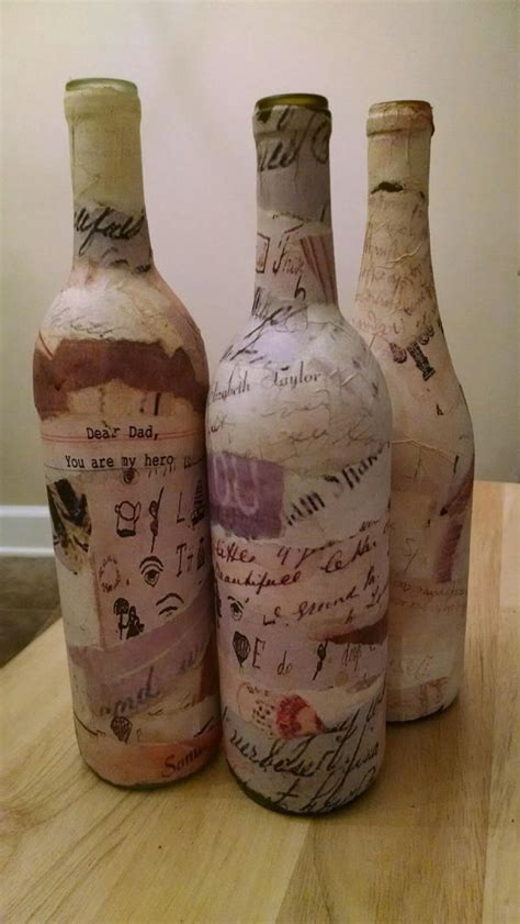 Decorative Wine Bottles For Wedding by Decorative Wine Bottles