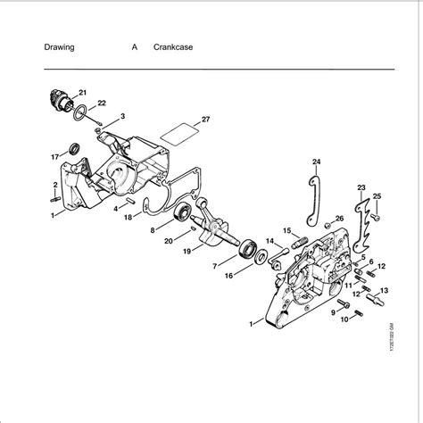 Diagram Of Stihl Tiller Engine by Stihl Ms 250 Chainsaw Parts List Wiring Diagram And Fuse Box
