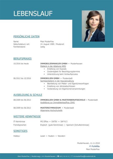 Modell Lebenslauf Auf by Vorlage Lebenslauf Business Casagenotta