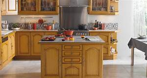 Cuisine équipée Bois : modele de cuisines equipees modele cuisine equipee design ~ Premium-room.com Idées de Décoration