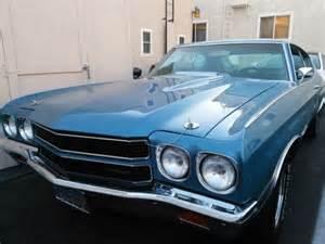 1970 Chevelle Malibu Astro Blue