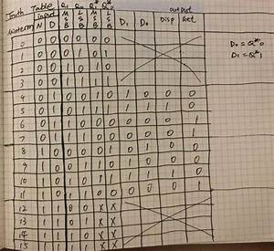 I Got The First Truth Table  Need Help With The K
