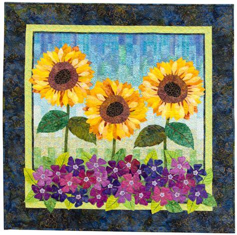 martingale flower show quilts