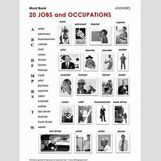 140 Best English  Jobs, Work And Occupations Images On Pinterest  English Language, Learn