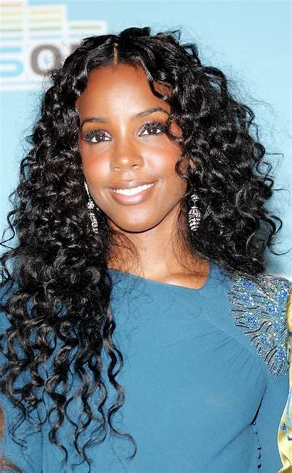 Kelly Rowland Hairstyle Actress Singer Curly Hair