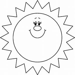 Clipart Of Sun Black And White - ClipArt Best