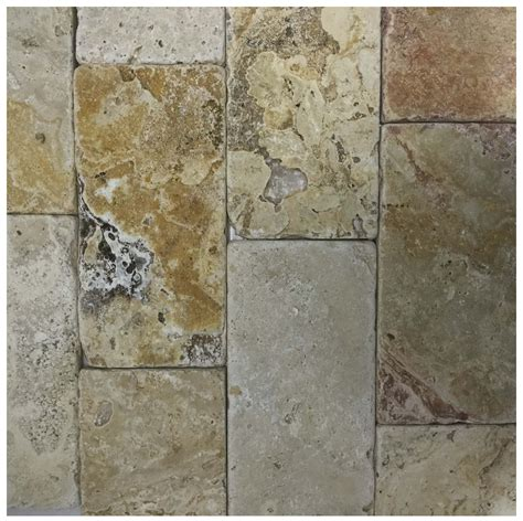 scabos tumbled travertine tile scabos travertine 3x6 tumbled tiles subway shop by