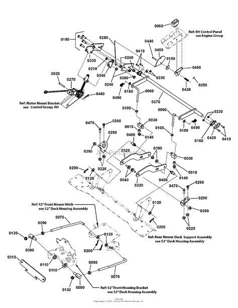simplicity   zt hp bs rider  mower parts diagram   mower deck
