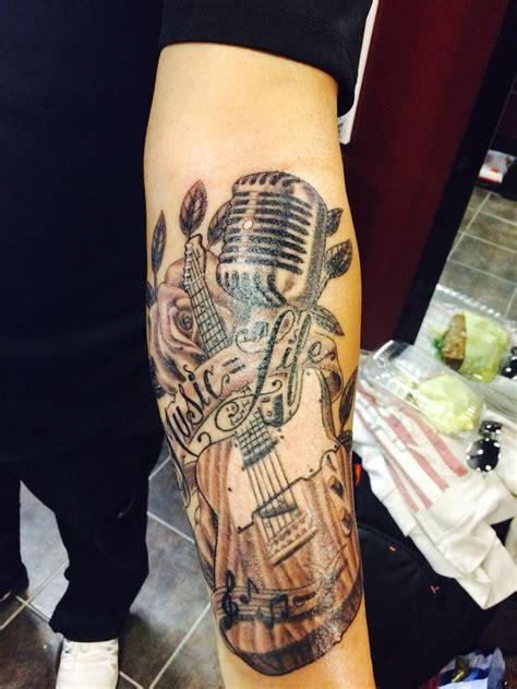 fender telecaster  life tattoo martin vaz