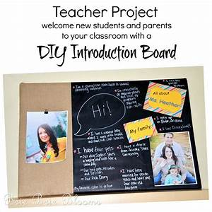 Teacher Project: DIY Introduction Board - Brie Brie Blooms
