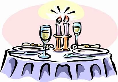 Clipart Jaar Getrouwd Dining Dinner Fine Cartoon