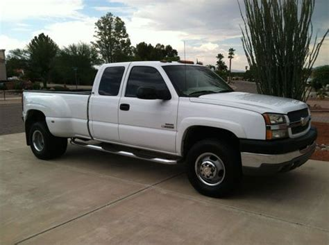 Buy Used 2004 Chevy Silverado 3500 Extended Cab Lt Pickup