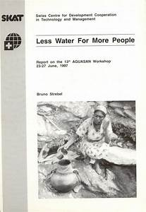 Less Water For More People