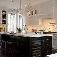 galley kitchen images espresso cabinets white quartz and crystals interiors by 1159