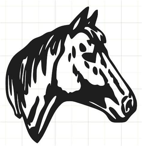 quarter horse head clip art   cliparts