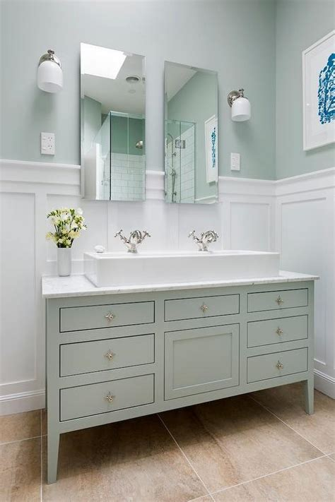 white  green bathroom ideas transitional bathroom
