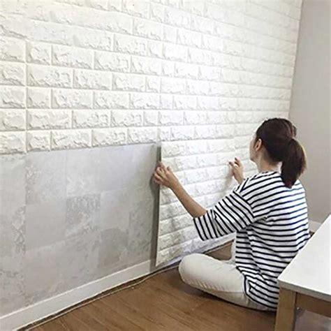 jual stiker wallpaper dinding  model bata  lapak