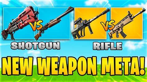 weapon meta  fortnite chapter  pump shotgun