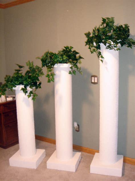 decorating columns dreams lighted columns pillars decorating head table