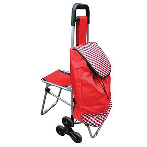 siege pour caddie shopping trolley with fold seat shopping trolleys