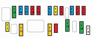 Citroen C4 Picasso  2006  U2013 2013   U2013 Fuse Box Diagram