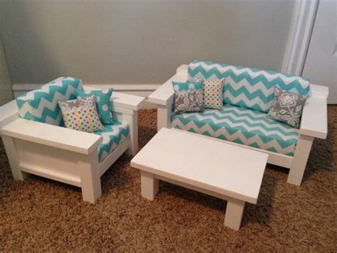 pin  doll furniture  build