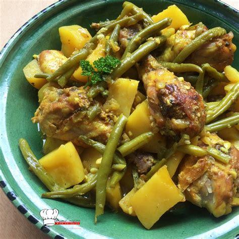 cuisine haricots verts tajine de poulet haricots verts recette cookeo recette