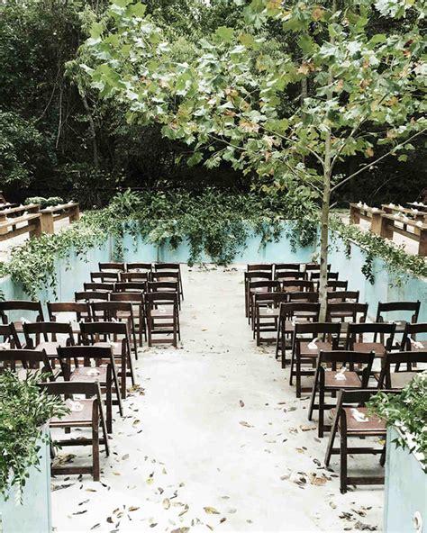fun ideas   poolside wedding martha stewart weddings
