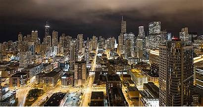 Chicago Cityscape Cities Animated Sustainable Communities Smart