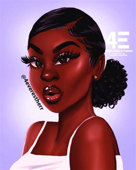 """The reflection in me written by: Estherr Luntadila 💗🌸 💸 on Instagram: """" Summer hairstyles #illustration #drawing #art #animation ..."""