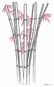Free coloring pages of drawings of bamboo