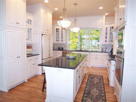 l shaped kitchen island designs kitchen layout templates 6 different designs hgtv