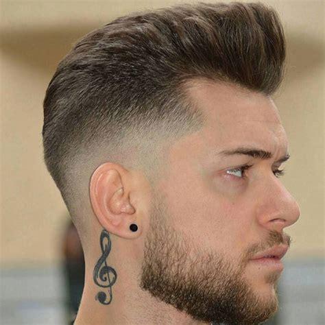 mid fade haircut mens hairstyles haircuts
