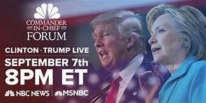 Media Confidential: NBC, MSNBC To Air Commander-In-Chief Forum